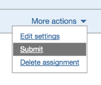 Zip file upload on behalf of a student | Blackboard Basic