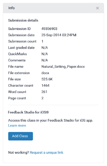 Turnitin iOS - Release Notes